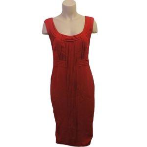 Tristan red party silk dress size 6 Medium